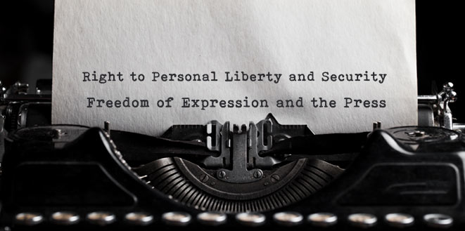 Press Release concerning the Alleged Violations of the Right to Personal Liberty and Security and the Freedoms of Expression and the Press due to Detention of Certain Journalists